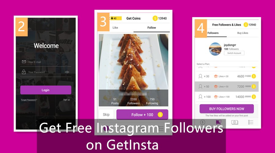 How to Get Free Instagram Followers on GetInsta